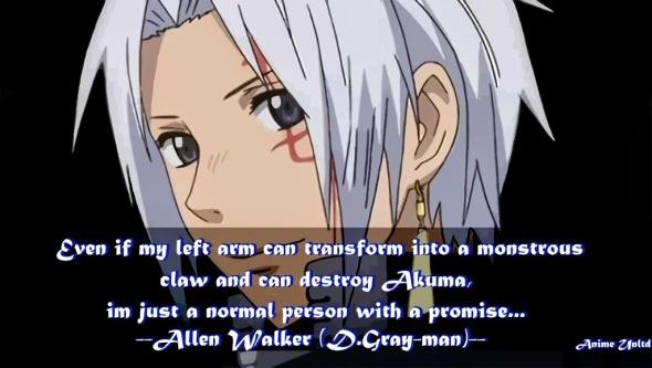 allen walker d gray man quotes 2